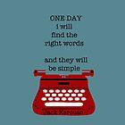 One day by TatiDuarte