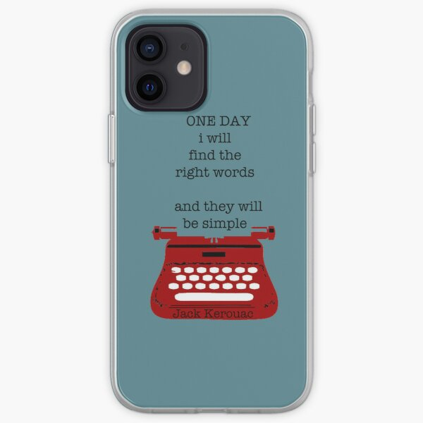 One day iPhone Soft Case