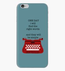 One day iPhone-Hülle & Cover