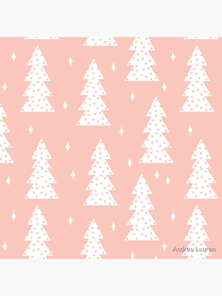 Christmas Tree - Blush by Andrea Lauren  by papersparrow