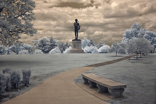 Orpheus in Infra Red at Fort McHenry in Baltimore, Maryland by Andrew Vox