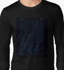 USGS Topo Map Washington State WA Lenzie Ranch 241978 1965 24000 Inverted Long Sleeve T-Shirt