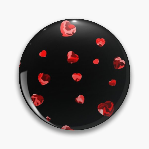 Chaotic Hearts, Dapple Series - Red Pin
