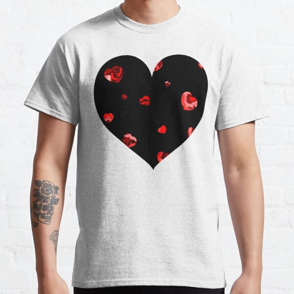 Chaotic Hearts, Dapple Series - Red Classic T-Shirt