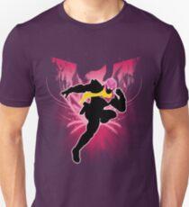 Super Smash Bros. Pink Captain Falcon Silhouette T-Shirt
