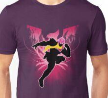 Super Smash Bros. Pink Captain Falcon Silhouette Unisex T-Shirt