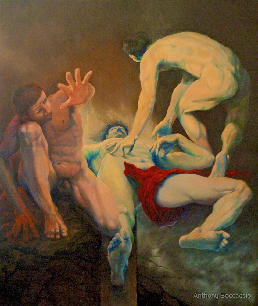 Deposition-Crucifixion: Ambivalence! by Anthony Boccaccio