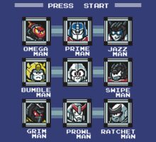 Destroy the Robot Masters!