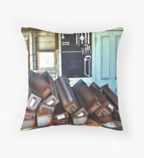 Where's my Bloody Hacksaw? Throw Pillow