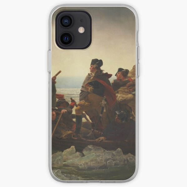 Washington Crossing The Delaware iPhone Soft Case