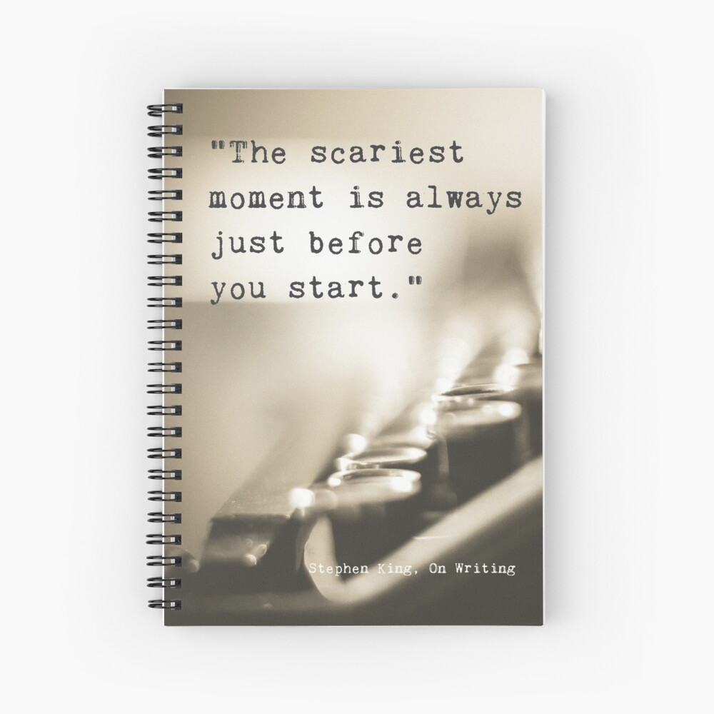 The Scariest Moment Spiral Notebook