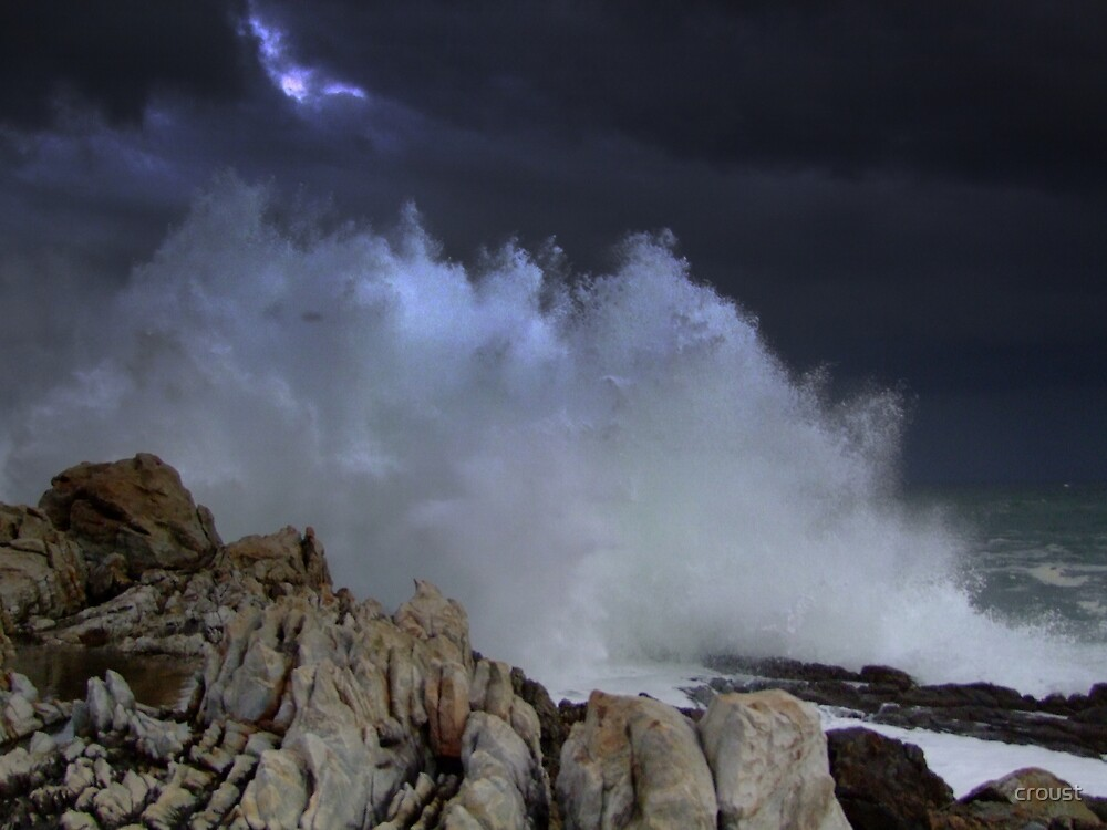 Angry Sea by croust