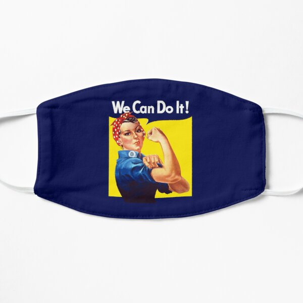 Rosie The Riveter - We Can Do It Mask