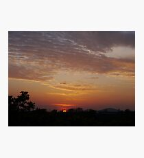 Sunset over West Cork Photographic Print