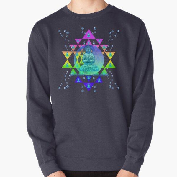 Cosmic Buddha Pullover Sweatshirt