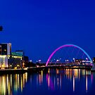 Glasgow City lights by Brian Canavan