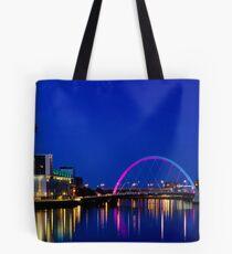 Glasgow City lights Tote Bag