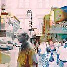 New York Husle  by susan stone