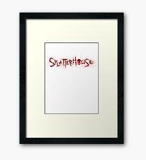 SPLATTERHOUSE Framed Print