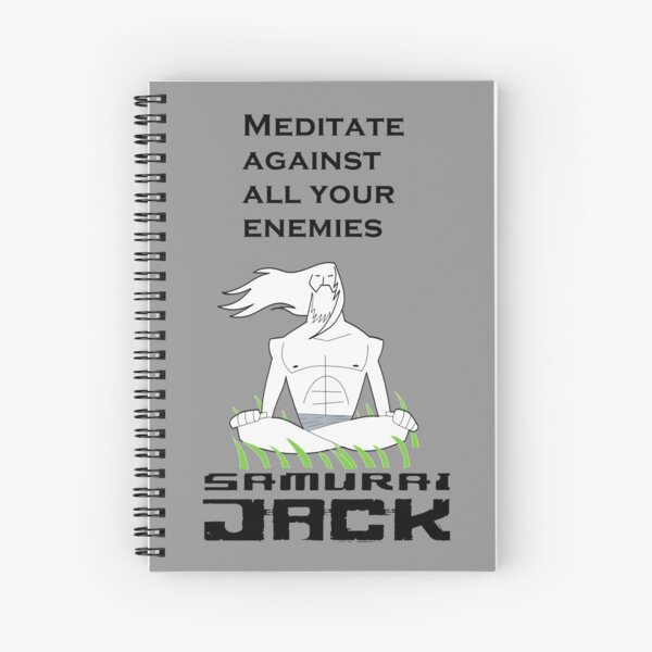 Samurai Jack ™ Spiral Notebook