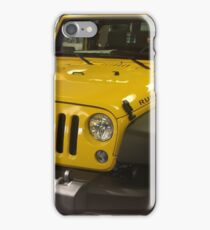 Yellow jeep iPhone Case/Skin