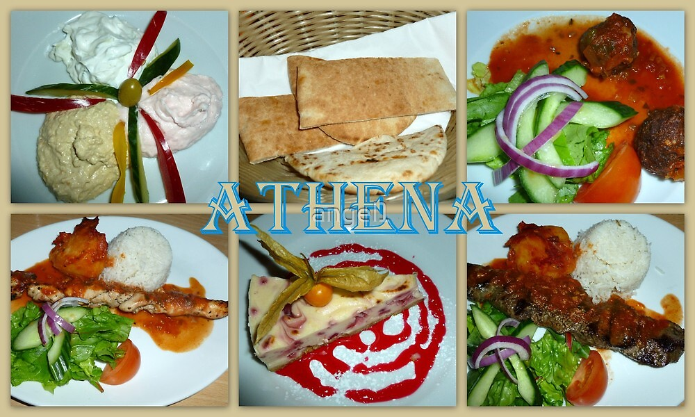 ATHENA ~ Greek Restaurant, Glasgow West End by ©The Creative  Minds