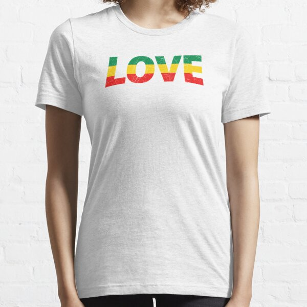 Liebe Rasta Reggae Jamaican Essential T-Shirt