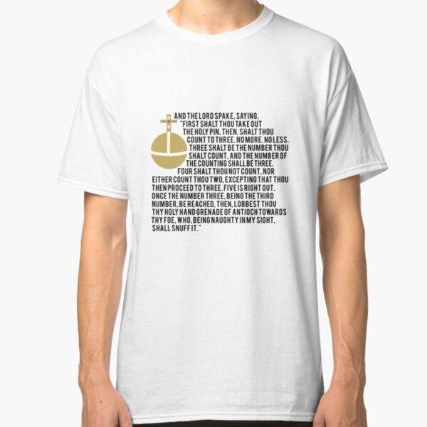 Holy Hand Grenade Classic T-Shirt