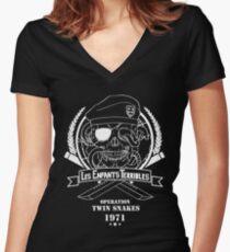 Les Enfants Terribles (SP version) Women's Fitted V-Neck T-Shirt