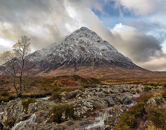 Buachaille Etive Mor ,Glen Etive,Scotland  by Fe Messenger