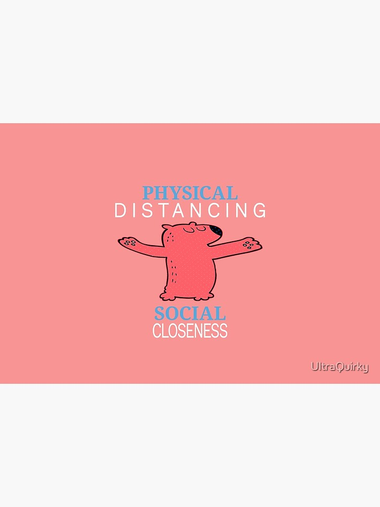 Physical Distancing. by UltraQuirky