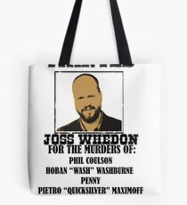 Joss Whedon: Wanted (2) Tote Bag