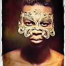 Golden Mask by Alexandra Ekdahl