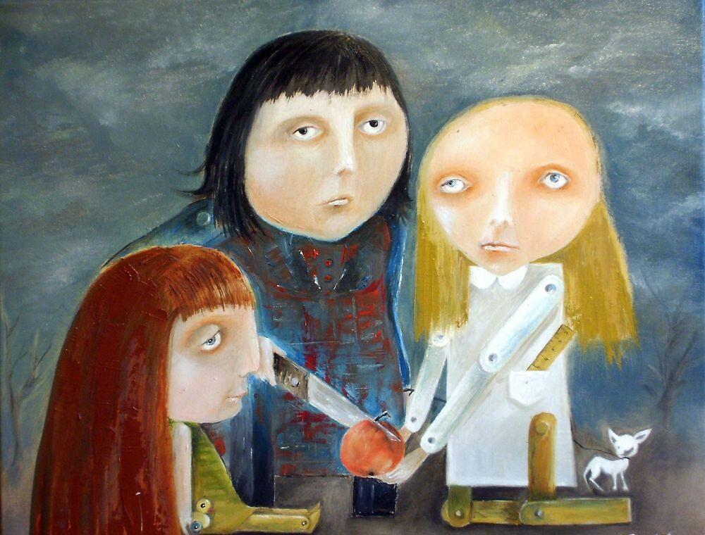 Siblings - Peace Treaty by Monica Blatton