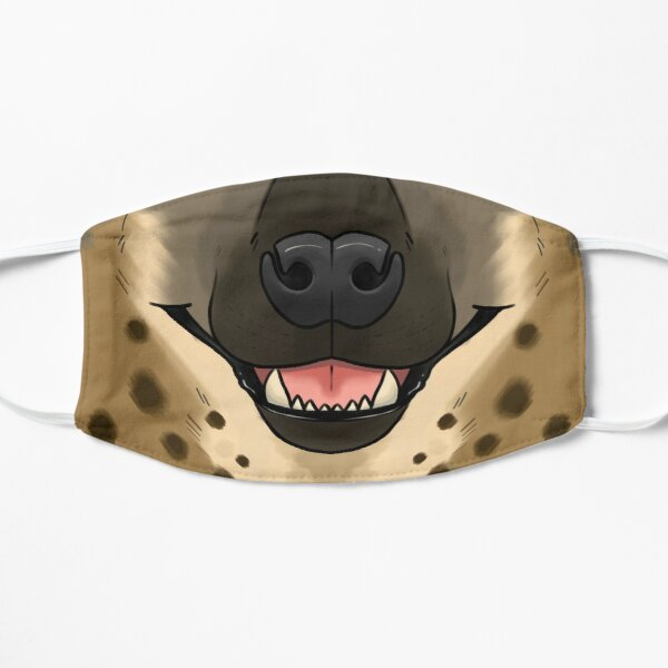Hyena Flat Mask