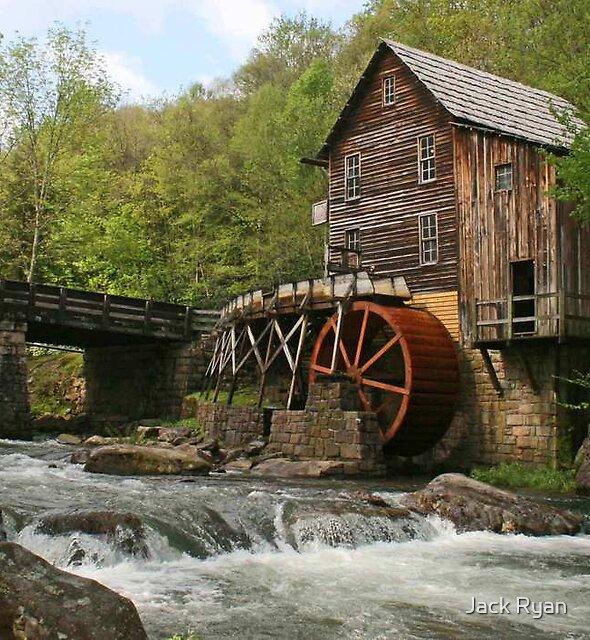 Glade Creek Grist Mill by Jack Ryan
