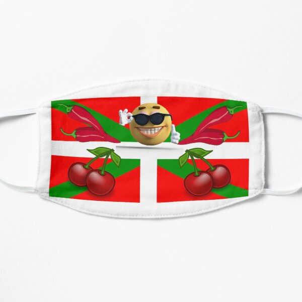Drapeau Pays Basque Masque sans plis