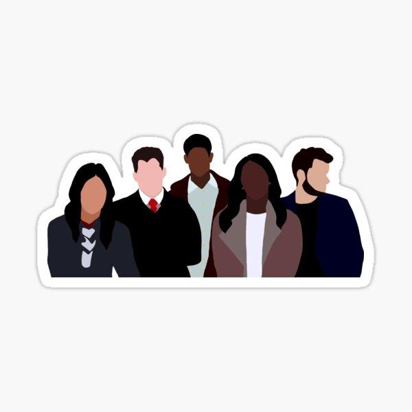 HTGAWM Keating Five Sticker