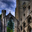 Ruined Nave and Tower by Tom Gomez