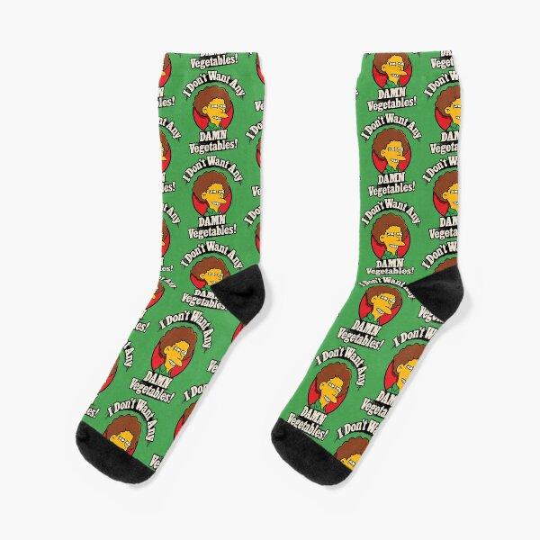 I Don't Want Any Damn Vegetables Socks