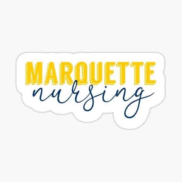 Marquette Nursing Sticker