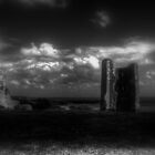 Hadleigh Castle (English Heritage) by larry flewers
