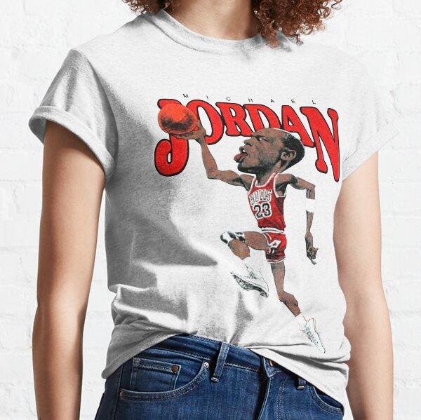 Vintage Michael JORDAN Caricature Classic T-Shirt