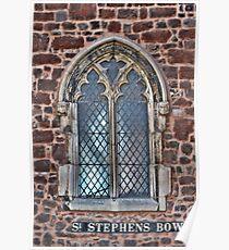 St Stephens  Exeter, Devon Poster