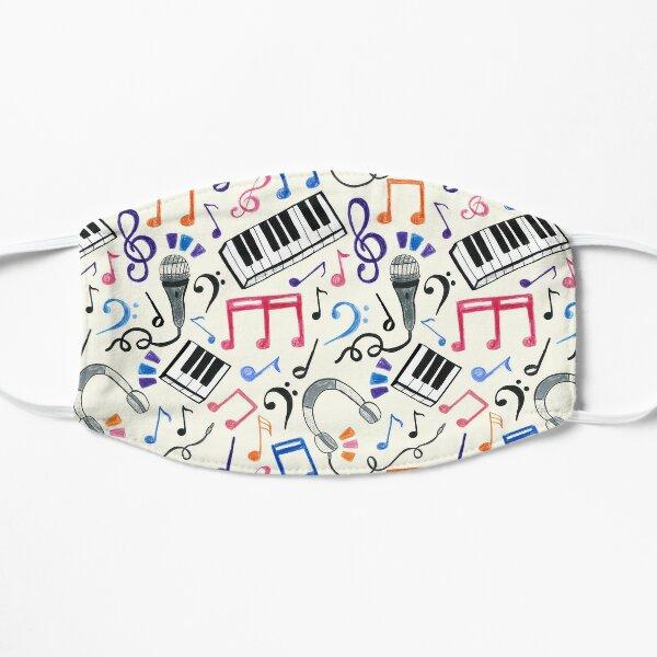 Good Beats - Notes de musique et symboles Masque sans plis
