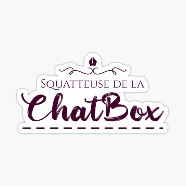 ChatBox Squatter Sticker