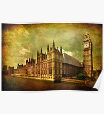 House Of Parliament - London Poster