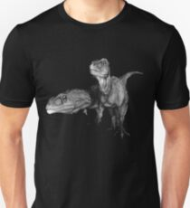 Giganotosaurus carolinii (blk) Unisex T-Shirt
