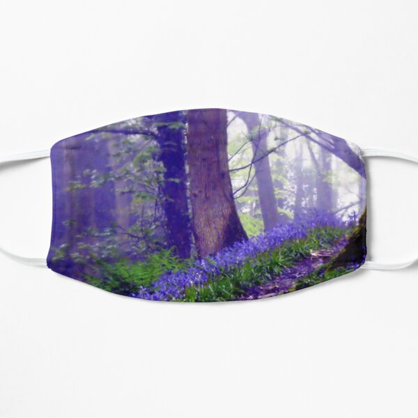 Bluebells in the Forest Rain Mask