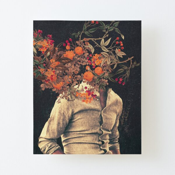Roots Canvas Mounted Print